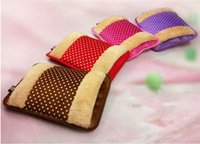 Wholesale Body Hand Warmer Hot Water Bottle Electric Heat Heater bag furry Warming Bags Cover Christmas Gift A3