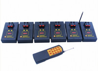 Wholesale CE FCC RoHS passed cues fireworks remote or wireless firing system with sequential and fire all function DBR04 X2