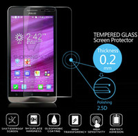 asus screen protectors - New Premium Tempered Glass Screen Protector For ASUS ZENFONE Screen Protective Film with Retail Packaging