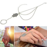 Wholesale Hot women bracelet jewelry animal style silver long east