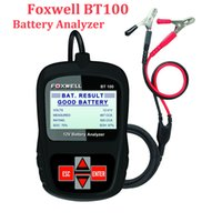 battery analyser - Foxwell BT100 Car Battery Analyser V Voltage Auto Tester for Flooded