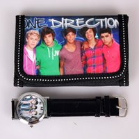 Wholesale New One Direction Watch Quartz Watch Change Purse Gift For Children ONE DIRECTION watch Wristwatches many models