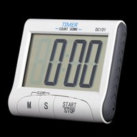 electronic clock timer - Kitchen Accessories Tools Electronic LCD Digital Timer Countdown Cooking Timer Count Down Alarm Clock cronometro para cozinha H15056