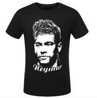 barcelona league - Neymar Camiseta barcelona Brazil jr Training Soccer Jerseys Survetement Football short Shirt Sportswear Mens UEFA Champions League