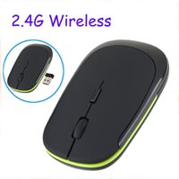 Wholesale Brand Optical Wireless Mouse Ghz Computer Mouse Gaming Wireless Mause For Computador PC Laptop Desktop Mouse Sem with retail box