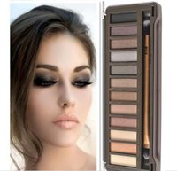 Wholesale 2015 New Released Makeup NUDE Smoky Palette Color Eyeshadow Palette g High quality DHL Fast Free ship
