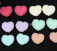 Cheap 200pcs resin Kawaii heart tea party Cell phone decor embellishment for diy decor 27mm tea party pastel heat badge pendant charm