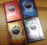 Wholesale Harry Potters lmagic book magnetic buckle schedule diary notebook retro vintage notebook diary harry potter notebook