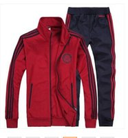 athletic sweat suits - Hot Sale Zipper Knitted Assassins Creed Hoodie Trendy New Mens Leisure Sports Tracksuit Athletic Apparel Sweat Suit Spca