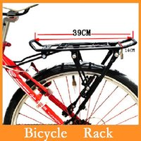 Wholesale High quality Cycling MTB Bicycle Carrier Rear Luggage Rack Shelf Bracket Aluminum Alloy for V brake Bike Dropshipping