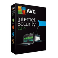Cheap AVG Internet Security 2013 2014 Antivirus Software 1 Year 2pc
