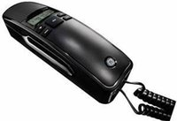 basic corded telephones - General Electric GE1 Basic Corded Slimline Phone with Caller ID with number dial memory Home Telephone