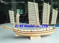 ancient chinese songs - Scale Chinese ancient classic sailboat model kits Song Dynasty Large Junk ship model