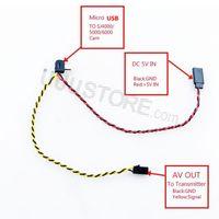 av out to usb - Micro USB to AV Out Cable for SJ4000 SJ5000 SJ6000 Camera FPV Video Audio Transmitter Cable AV