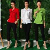 shirt puff sleeve - 2015 Fashion Women Plus Size Butterfly Chiffon Long Sleeve Blouses Ladies Slim OL Work Casual Shirt Blouse Top Tees