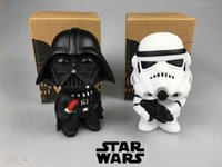 Wholesale 2016 New Q Star Wars Darth Vader STORM TROOPER Action Figure Model Toy For Kids Retail Box