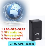 Wholesale GPS Tracker Mini GF Mini Global Real Time GSM GPRS GPS Tracking Device google map link real position With Listening and voice record