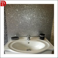 glitter wallpaper - Europe reflective night club glitter fabric wallpaper Modern glitter wallpaper for bedroom wall decoration glitter wallpaper