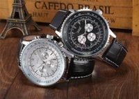 Prezzi Maglia cielo giallo-affari orologio JARAGAR uomini caldi di vendita di marca meccanico automatico orologi in pelle banda orologio JR42