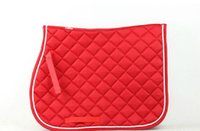 Wholesale Horse Quilted ENGLISH SADDLE PAD Tack Trail Riding RED
