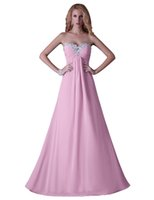 Chiffon dress blue grace - Grace Karin Beaded Celebrity Lady s Long Formal Bridesmaids Dress Pink Blue prom Cocktail Evening Gowns Size CL3518
