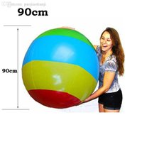 Wholesale new Super big inflated cm cm ball inflatable beach ball pool ball beach toy summer toy sport water play pvc material