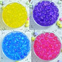 Wholesale Selling bags Water Plant Flower Decoration Magic Crystal Soil Mud Beads Water Pearls Gel Beads Balls For Home