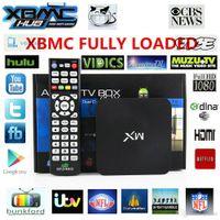 Cheap MX XBMC Android TV Box Dual Core 1G RAM 8G Amlogic 8726 HDMI WiFi DLNA Google Smart TV Mini PC 1080P TV With Remote Controller TV-MX
