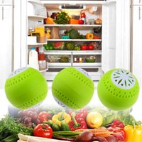 air freshener ball - 3 Air Freshener for Homes Fridge Absorber Odor Removal Fruits Fresh Balls Green