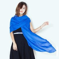 cotton shawls and scarves - Fashion Scarves Cloth Accessories Solid Plain Candy Colors Head Scarf Women s Shawls And Scarves India Ladies Female Scarves Headband