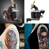 basic tattoos - Custom Tattoo Machine Gun for Liner Shader Wrap Coils Basic Starter Set