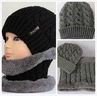designer hat and scarf - Hot Cashmere collars Autumn Winter Men Women s Scarf Hat Outdoor Keep Warm Caps and Scarf Set Sports Hat Designer
