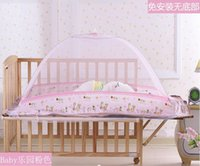 Wholesale Baby Mosquito High Quality Baby Crib Bed Mosquito Net Suitable for Any Size Baby Cribs Build More Comfortable Bed for Babies