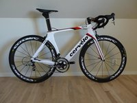 Wholesale Cheap S5 White Road Bikes Online with Original ULTEGRA groupset mm Cosmic Carbon Wheelset handlebar