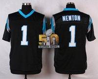 Wholesale Cam Newton Football Jerseys with Super Bowl Patches Cheap Football Jerseys Men Sports Jerseys Authentic Best Football Uniform