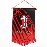 ac flag football - AC Milan football fans supplies souvenir five flags pennants
