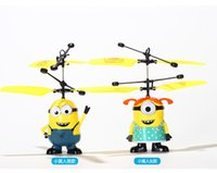 aircraft models for sale - Free Ship Hot Sale Despicable Me Minions Toys Aircraft Model Remote Control Helicopter For Children Kids Top Gift for girls and boys