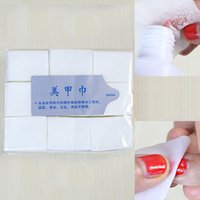 Wholesale 900pcs Nail Tools Nail Polish Remover Wipes Nail Art Tips Manicure Nail Clean Wipes Cotton Lint Pads Paper
