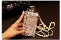 perfumes - Luxury Iphone case Perfume bottle Bling Diamand Crystal cover Case For iPhone iphone Plus Samsung Galaxy S3 S4 S5 Note4