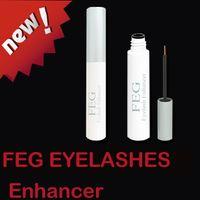 Wholesale 100pcs eyelash growth treatments FEG eyelash enhancer hair growth liquid eyelashes days fuller thicken eyelash serum
