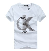 top brand t-shirts - M XL mens t shirts fashion casual short sleeve o neck cotton printed t shirt men brand t shirt men Tops plus size
