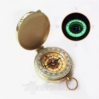 Wholesale 1 pieces new Outdoor Navigation Tools Watch Style Magnetic Pocket Directional Compass for Camping and Hiking