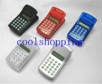 calculator - DHL Freeshipping FLCD Screen Display Mini Portable Pocket Clip Calculator for Student