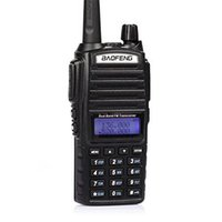 Wholesale BAOFENG UV VHF UHF Dual Band MHz PTT W Two Way Radio by DHL