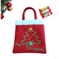 Wholesale Christmas Bag Shopping Bag Handbag Xmas Gift Bag Card Bag Candy Bag Christmas Gift Xmas Nonwovens Cloth Bag Christmas Decoration Decor