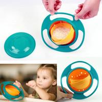 dishwasher - Kid proof bowl Inner bowl rotates degrees Dishwasher safe Universal Baby gyro Bowl Rotating Flying Saucer Toy