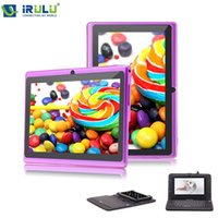 android keyboard download - iRULU eXpro quot Tablet PC HD Android Quad Core WIFI GB Download Google APP Play Purple W Black Keyboard New Hot