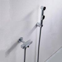 Cheap Inspired Toilet Bidet Faucet Handheld Portable Wash Cleaner Hose Sprayer Shattaf WC Toilet Shower Jet Set Female Urinal Flush Tap Furniture