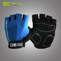 Wholesale High Quality BASECAMP Fashion Road Mountain Bike Gloves Half Finger Cycling Gloves Lycra Material Bicycle Equipment