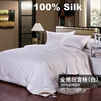 Wholesale BS109 High quality Silk Comforter Quilt Blanket Comforter Doona Duvet Bedding Sets Winter Comforter KG